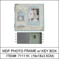 Orginally designed MDF Photo frame/ insert Key box