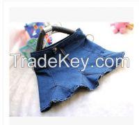 2014 New Fashion Womens High Waist Sexy Mini Jeans Skirts S - XL Girsl Blue Denim Trumpet Mermaid Slim Skirt Hot Free Shipping