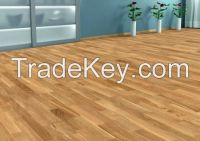 high quality luxury oak and ash floorboards, engineered flooring (two-layer) and solid parquet