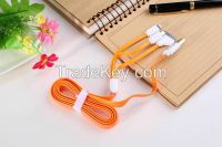 Multifunction 3 in 1 mobile phone computer connection lines portable data cable universal phone charging cord