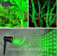single green static firefly garden laser for outdoor garden light