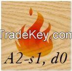 Fire Retardant Acoustic Wood Panels A2-S1-D0 Fire Classification, Fire Proof Wood, Fire Resistant