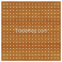 Perforated Acoustic Wooden Panel