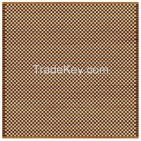 Perforated and Grooved Acoustic Wooden Panel, 8000 holes/sqm