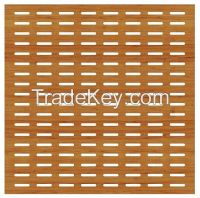 Slotted Acoustic Wooden Panel