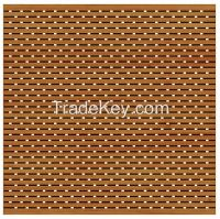 Perforated and Grooved Acoustic Wooden Panel