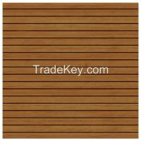 Grooved Wooden Acoustic Panel, Reflector