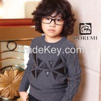 New style pullover boys kid knitting wear sweater