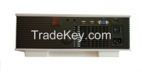 China best mini led projector uc80 mini projector 800x480p with HDMI,VGA,AV,tv EF port
