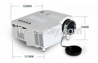 UC28 LED Projector with HDMI Mini Micro AV LED Digital Video Game  Multimedia player Inputs AV VGA USB SD