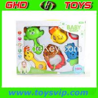 Baby Plastic Music Rattle baby toys china wholesale