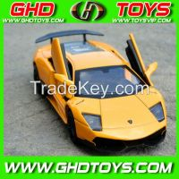 MZ branded 1:32 alloy authorized Lamborghini 700J,1:32 small scale diecast Lamborghini toy cars with light,music and opened door