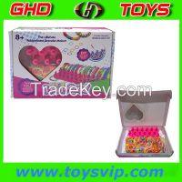 colourful kid loom band loom band bracelet DIY toy