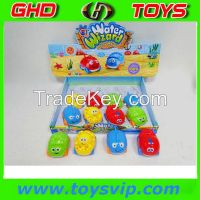 cartoon car funny plastic baby toy