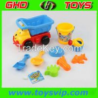 Children summer lovely plastic sand beach toy truck