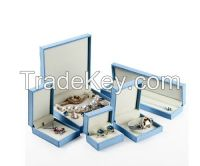 high end leather series of leather  jewelry box for custom make and wholesale
