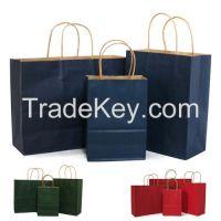 kraft paper gift cloth bag or shopping bag wholesale
