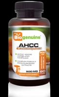 Biogenuine AHCC 500 mg 60 Vegetarian Capsules