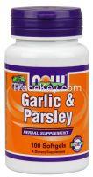 GARLIC and PARSLEY 574/110 mg 100 SGELS - Code 1800