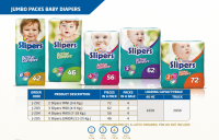 SLIPERS BABY DIAPERS