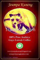 Jeumpa kuneng - arabica gayo luwak civet coffee