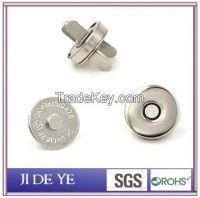 nickel14mmbrass handbag magnet button