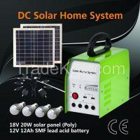 2015 Hot Sell 20W Mini Home Solar Lighting System;Solar Energy System