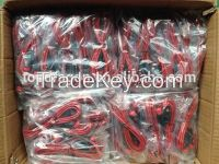 3.5mm stereo to 3.5mm stereo cable with fish-eyes