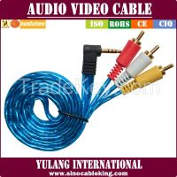 3.5MM Stereo to 3RCA cable