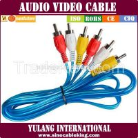 3RCA to 3RCA Audio & Video cable for Nigeria Market