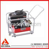 powered hydraulic rescue motor pump