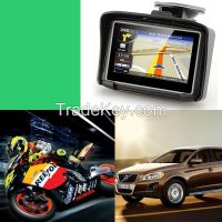 IPX7 Waterproof touch screen from China factory motorcycle gps