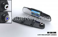 2015 China Factory car dvr rearview mirror
