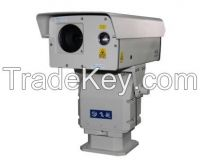 Integrated laser night vision CCTV