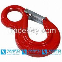 Stainless Steel Hook, G80 Swivel Self Locking Hook for Rigging Hardwar