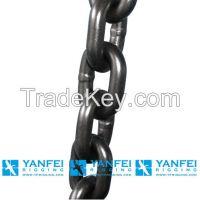 G80 En818-2 Alloy Steel Hoist Load Lifting Chain