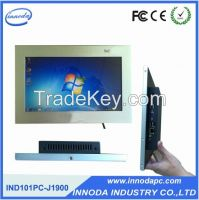 10.1-Inch Embedded Computer Touchscreen AIO Pc With CNC Technic