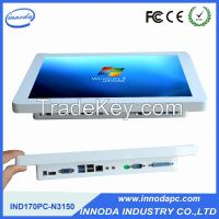 Desktop Resistve Touch Screeen Computer 1 COM 1 LPT Metal Case Embeded Panel PC All-In-One Industrial Pc With 1.9Ghz Processor