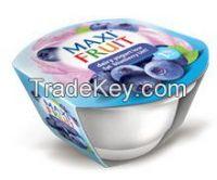 UHT yogurts