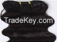 Single And Double Drawn Machine Weft Hair