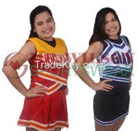 Fully Customized Cheering Uniform Set