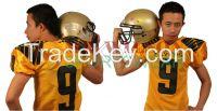 Mr. Wilson Customized American Football Jersey