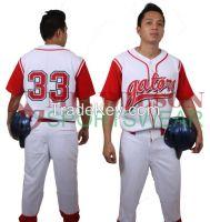 Fully Customizable Baseball Uniform Set