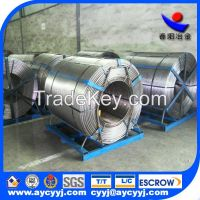 SiCa cored wire/CaFe cored wires in steelmaking