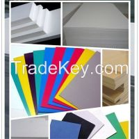 China supply pvc rigid sheets, density 1.5-1.85g/cm^3