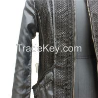 European New Fashion PU Leather Women's Jacket