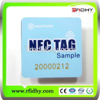 China manufacturer cheap price 13.56mhz NFC tag with Ntag 203/Ultralight chip