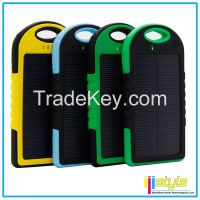 5000mah waterproof solar