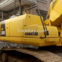 Used Komatsu PC200-7 Crawler Excavator, Used Komatsu PC200-7 Excavator