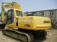 Used Komatsu PC220-7 Crawler Excavator, Used Komatsu PC220-7 Excavator